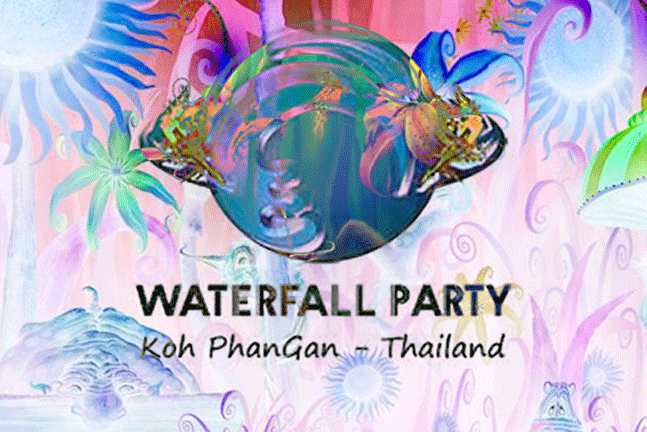 Waterfall Party Koh Phangan at Sramanora